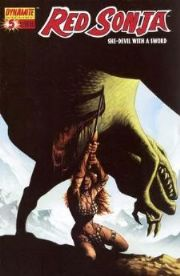 Red Sonja #5 Richard Isanove Cover